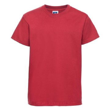 NOSS PRIMARY SCHOOL CLASSIC RED  T- SHIRT WITH LOGO